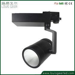 3000K blanco cálido 35W Lámpara de ahorro de energía LED regulable Global Track iluminación para la iluminación de la galería