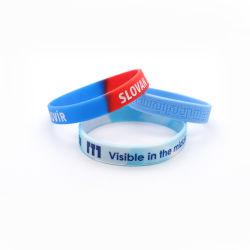 Design de Mode personnalisé Bracelet en caoutchouc de haute qualité