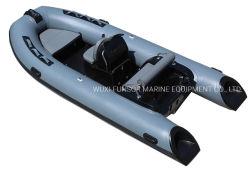 Funsor 3,9 m 13pieds de la Chine gonflable fabricant de bateaux de vitesse de la nervure Bateau pour la pêche ou la plongée