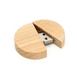 Быстрая доставка утилизировать диск деревянным USB флэш-накопитель USB флэш-накопителей