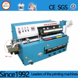 Desktop automática Multi-Color Algodão Nylon Acetinado de poliéster Ployester fita PVC adesiva cetim fita pano de papel da máquina de impressão de etiquetas