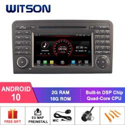 Auto DVD GPS des Witson Vierradantriebwagen-Kern Android-10 für MERCEDES-BENZ Ml320/Ml 350/W164 (2005-2012), Gl X164 (2005-2012), Gl320 eingebaute WiFi Baugruppe