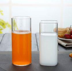 350ml Type rond en verre transparent de l'eau de boisson tasse/la poignée cuvette en verre borosilicaté /haut tasse tasse/résistance haute température