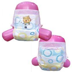 Nueva llegada del bebé desechables baratos tire pañales, OEM Custom S/M/L/XL/XXL Tallas Pañales pantalones