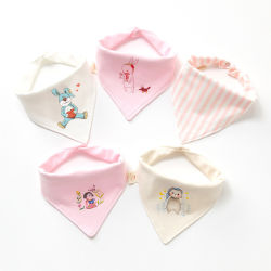 Yikangの赤ん坊の胸当ての美しいデザイン新式の洗濯できるカスタマイズ可能な赤ん坊のエプロン