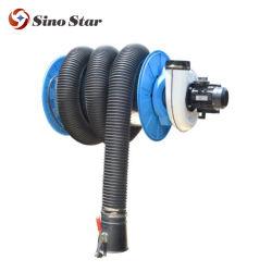 FS-200907608550W 플라스틱 호스를 사용한 배기 가스 추출 차량 수리 장비 550W 모터 릴
