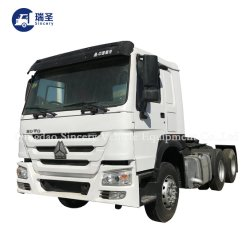 استخدمت الصين الشاحنة إلى أفريقيا بسعر جيد سينوروك HOWO عجلات 12 شاحنة جرار Truck 10 عجلات 6*4 و8*4 371HP-375HP شاحنة التفريغ المستعملة