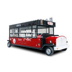 버블 티 푸드 밴 주서기 푸드 카트 전기 이동식 트럭 그릴과 함께 하는 푸드 모바일 키친