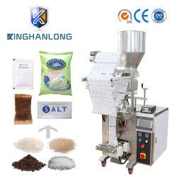 Automatische vertikale Körnchen-Salz-/Reis-/Bohnen-/Startwert- für Zufallsgenerator/Gewürz-/Zuckerpopcorn-Frucht-/Teebeutel-Stock-Quetschkissen-Nahrungsmittelverpackungs-verpackenfüllende Dichtungs-Maschine