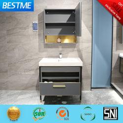 حمام كامل مقاوم للمياه من الفولاذ المقاوم للصدأ مع خزانة مرآة (حسب B6192-75)