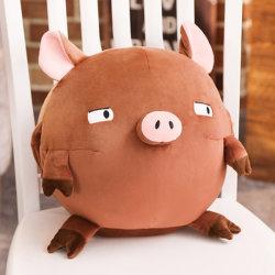 Kundenspezifische weiche Puppe-Tierspielwaren-reizender angefülltes Tier-Kissen-Winter-Plüsch-Handwärmer