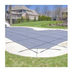Серый/Tan 1000d с покрытием из ПВХ брезент бассейн крышку ткань