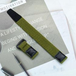 Chiusura militare a rilascio rapido chiusura con velcro in tessuto di nylon Fascia orologiera di ricambio per fascia sport