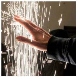 Commande à distance flamme froide étincelle Fireworks Fontaine pour la phase de mariage de la machine