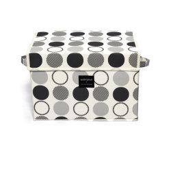 Punto de inicio Imprimir Oxford Caja de almacenamiento para el hogar