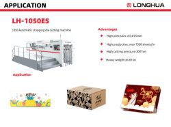 Lh1050esf 자동 포일 스탬핑 다이 절단 기계(스트리핑 포함