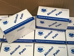 2020 Wegwerf Wischer-Spiritus-Auflagen für die Brillen desinfizieren, die sauberere Desinfektion-Tabletten für Handwundspiritus-Baumwollblatt säubern