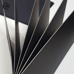 La fábrica de papel negro Rectángulo redondeado Die-Cut