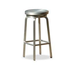 Стул из алюминия, современный, без спинки для сада, кафе, свадебное украшение, фиксированный стул