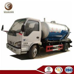 Isuzu 4000L 4cbm 4m3 vide du réservoir d'aspiration des eaux usées chariot