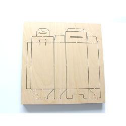 18mm 1220*1220mm die Pappel-Furnierholz-Laser-Ausschnitt sterben Vorstand