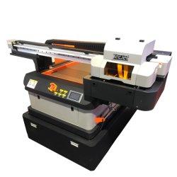 La alta calidad 6090g de 3c de la decoración de cuero Panel Digital de Señales de la impresora plana UV