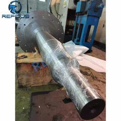 La precisión de OEM maquinaria de minería de Energía de la máquina de molienda de cemento precisa el mecanizado pesado de acero forjado en caliente libre de la turbina de forja forja el eje del ventilador