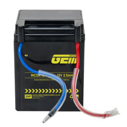 Vida longa de alta qualidade barato 12V2.5ah Mcsa 2-2.5a bateria UPS/ Banco de Energia Solar /inversor/Power-Tool/Electric-Scooter/aluguer/Motociclo/Segurança/Sistema de Alarme