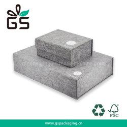 Mango de alta calidad de impresión personalizadas de papel rígido plegable Embalaje de regalo Caja con papel de lujo