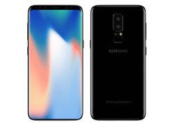 Déverrouillé Téléphone Mobile pour Samsung S9/ S9+Original New Smart Phone avec la Double Carte SIM