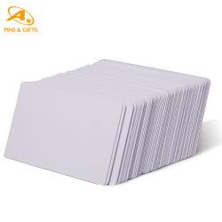 آخر PVC معرف أبيض عادي تخصيص تأشيرة بلاستيك ATM فارغة بطاقة تعريف ذكية مسبقة الدفع لبطاقة التعريف الذكية الخاصة بالهوية الذكية لتجارة الجملة الائتمانية المعدنية