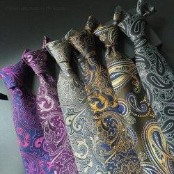 Qualitäts-Formitalienische Mens-Silk Krawatten-stattliche schwarze Gleichheit