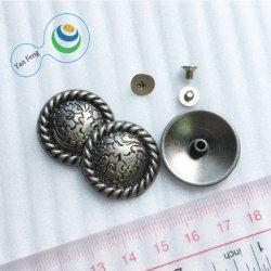 klinknagel Van uitstekende kwaliteit van de Legering van het Metaal van 25mm de Uitstekende met de Spijker van de Schroef voor de Toebehoren van de Hardware van de Decoratie van de Riem