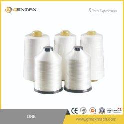 Weißes Polyester-Nähgarn für steppende Maschine