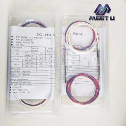 트리플 윈도우 5/95 10/90 15/85 분할비 FBT 튜브 커플러 다채로운 색상의 광케이블