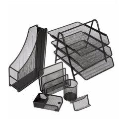 طاولة مكتتبة حديد فولاذ معلنة شبكة [أفّيس دسك] مبرد منام