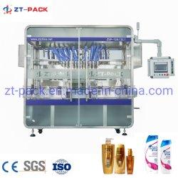 Champú líquido automática de gel de ducha acondicionador de cabello máquina de llenado de botella de plástico