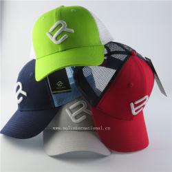 Les chapeaux et casquettes Fabricant OEM Custom Coiffure Chapeau de maillage personnalisé de haute qualité 6 Panel 3D Embroidery camionneur de maillage Cap Hat Fashion Cool Summer Cap Hat