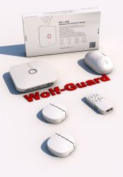 Tuyasmart Life WiFi GSM Beveiliging Alarm Sos Emergency Google Assistant&Alexa