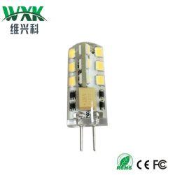 مصابيح LED G4 G9، 12 فولت من التيار المتردد، مكافئ لمبة مصباح الهالوجين الزجاجي 25 واط، أبيض دافئ 2800K، تحت مصابيح الخزانة، الإضاءة المجوفة، توفير الطاقة