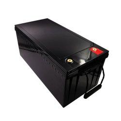 بطارية ليثيوم أيون 12 فولت/24 فولت/48 فولت LFePO4 100ah/200ah/300ah بطارية قابلة لإعادة الشحن لشركة الاتصالات/سيارة الجولف/القارب حزمة بطارية LFPO4