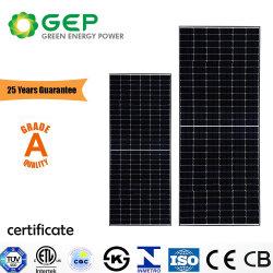 Fábrica do GEP 280W-610W constituídos Half-Cut Painel Solar preta da Célula