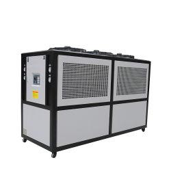 30HP Chiller refroidi par air de refroidissement du refroidisseur d'équipements industriels à enveloppe pour l'industrie des plastiques