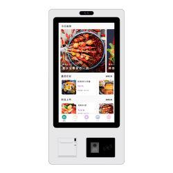 製造業者キオスクインテリジェントオーダーセルフサービスタッチスクリーン支払い端末 チケットプリンタを使用する