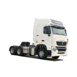 China Utilizado negro HP 420 camiones HOWO SINO A7 El Tractor para promoción