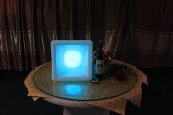 LED iluminado cubo de hielo encender el cucharón