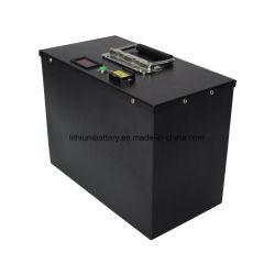 مجموعة بطارية Lithium Ion LFePO4 قابلة لإعادة الشحن بجهد 12 فولت وقدرة 48 فولت وبقوة 100 أمبير في الساعة وبقوة 200 أمبير في الساعة