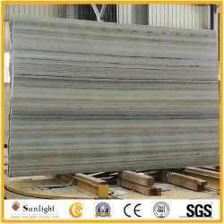 China veta de madera Gris/Azul mármol para suelos y paredes