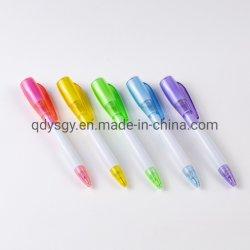 La luz Hot-Selling suministros de oficina Bolígrafo con 5 colores