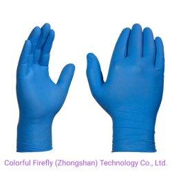 En Stock guante de látex de Nitrilo desechables Guantes de examen Fábrica con CE y FDA